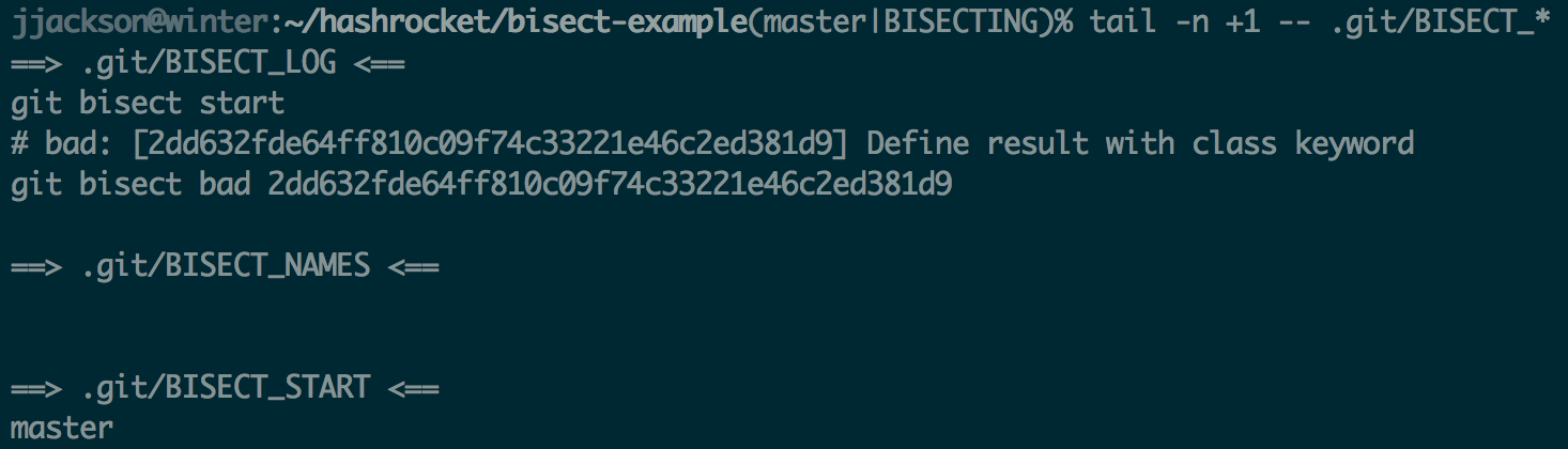 git-bisect-bad-tail