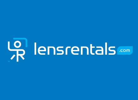 Screenshot of LensRentals.com: The leading photo equipment resource