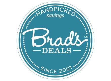 Screenshot of Brad's Deals: Content & workflow for coupons & deals