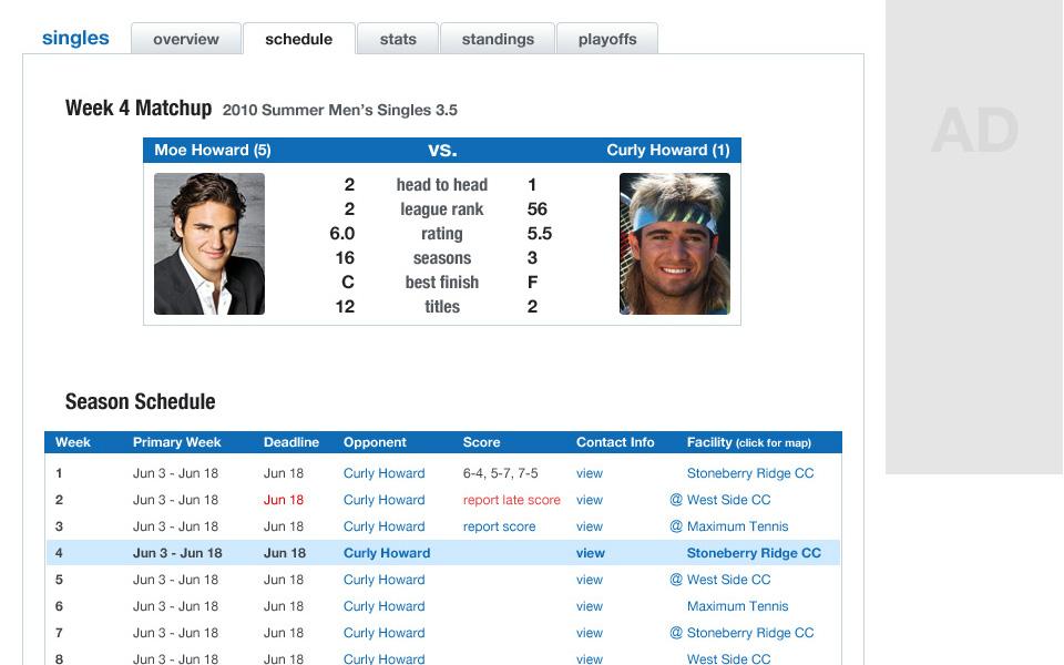 Screenshot 5 of Ultimate Tennis
